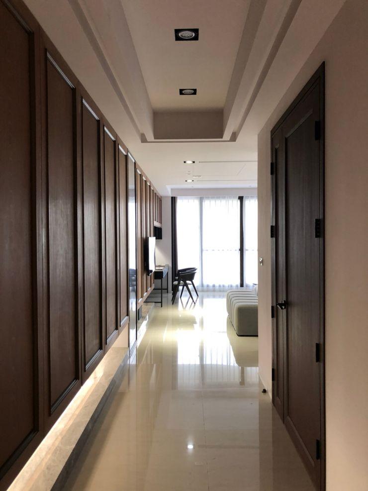 湘頡設計 Small bedroom Wood effect