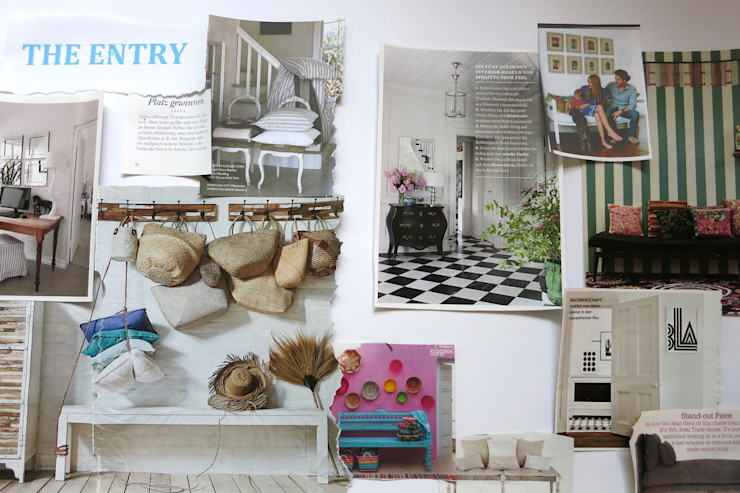 Moodboard - The Entry Tschangizian Home Staging & Redesign