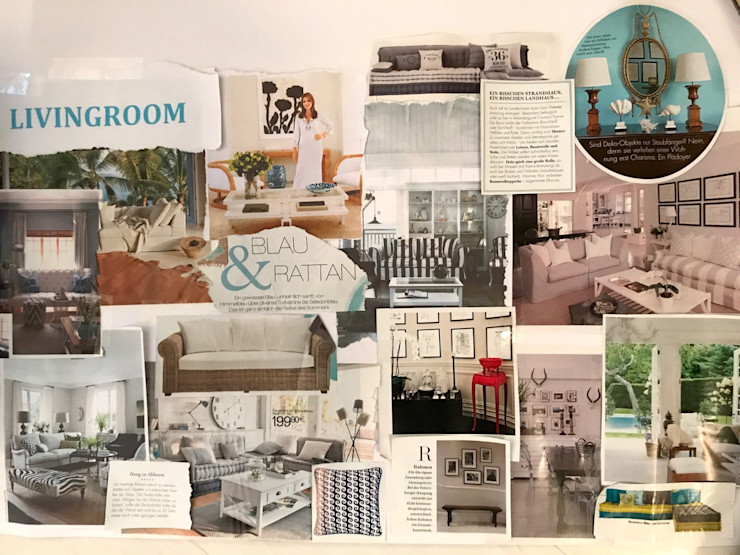 Moodboard - Livingroom Tschangizian Home Staging & Redesign