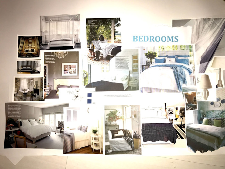 Moodboard - Bedrooms Tschangizian Home Staging & Redesign