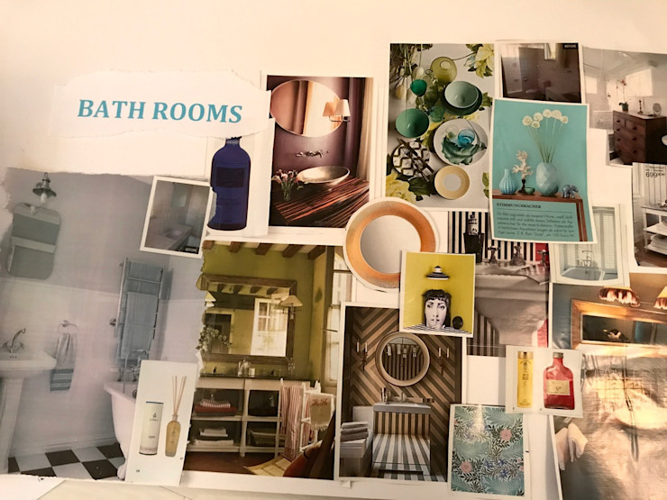 Moodboard - Bathrooms Tschangizian Home Staging & Redesign
