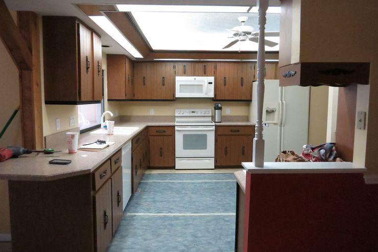 Küche - Vorher Tschangizian Home Staging & Redesign