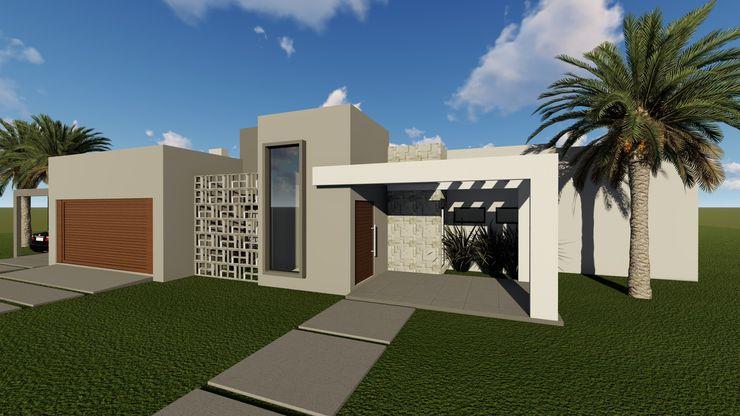 Cláudia Legonde Single family home Concrete Grey