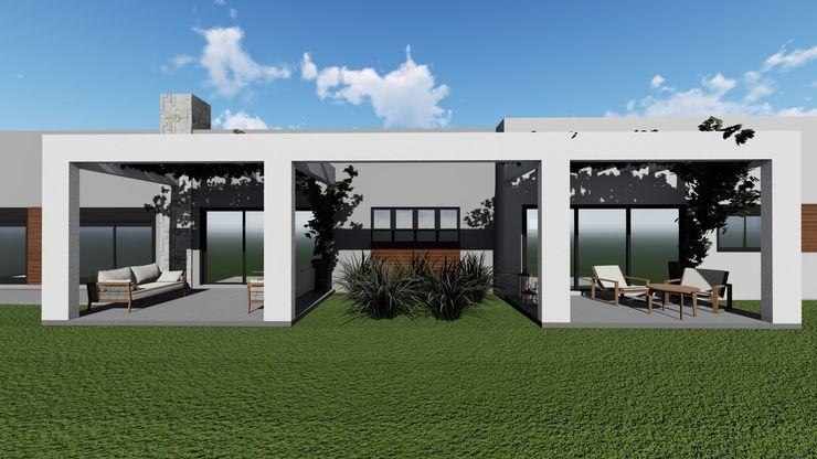 Cláudia Legonde Zen garden Concrete White