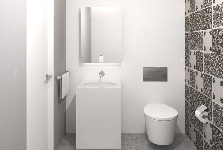 NEF POINTS 98 Ezgi Yüce Mimarlık AŞ. Modern Banyo