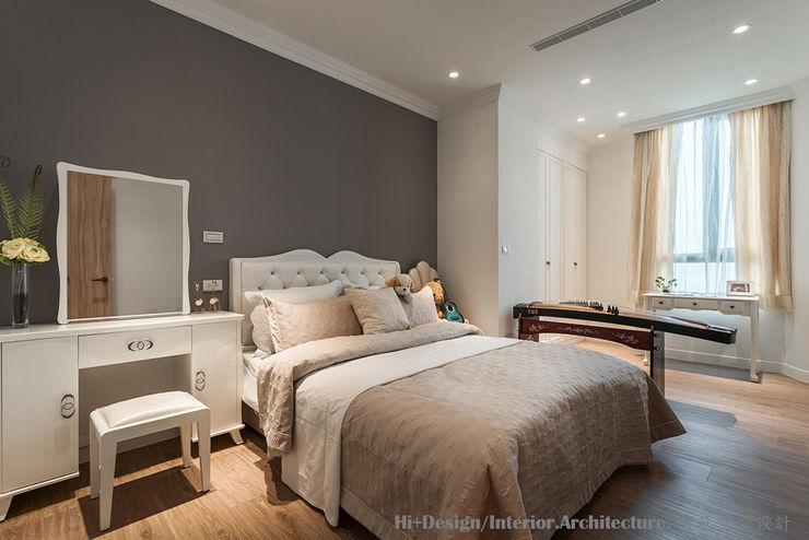 女孩房 Hi+Design/Interior.Architecture. 寰邑空間設計 Small bedroom Plywood White