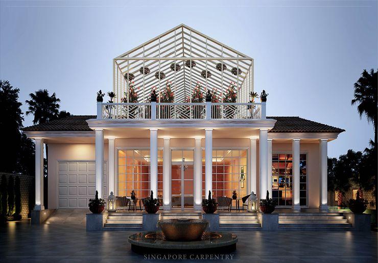 Singapore Carpentry Interior Design Pte Ltd Casas de estilo colonial