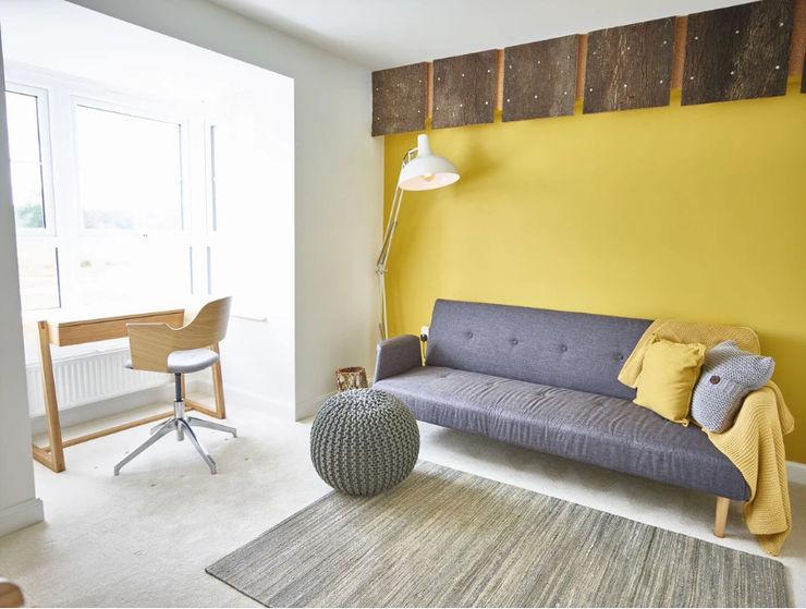 The Yellow Room Aorta the heart of art مكتب عمل أو دراسة Yellow