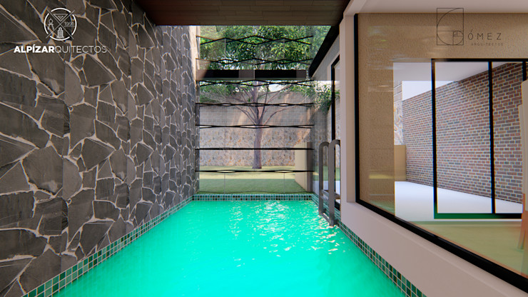 GóMEZ arquitectos Garden Pool