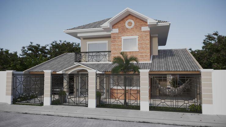 Portão de grade preta | RJ Gelker Ribeiro Arquitetura | Arquiteto Rio de Janeiro Casas familiares