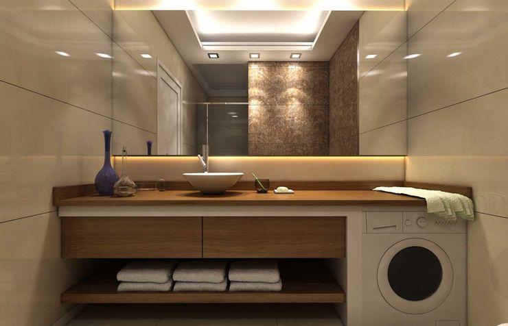 Şensoy Apt ANTE MİMARLIK Modern Banyo