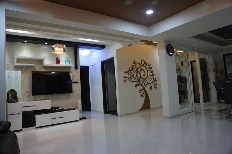 Vdezin Interiors SalasMuebles de televisión y dispositivos electrónicos