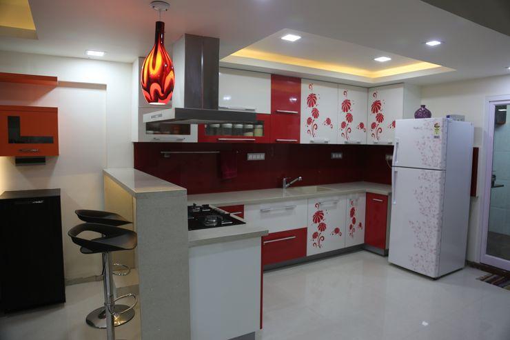 Vdezin Interiors CocinaArmarios y estanterías