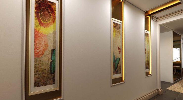 Dekoratif objeler ANTE MİMARLIK Klasik Koridor, Hol & Merdivenler