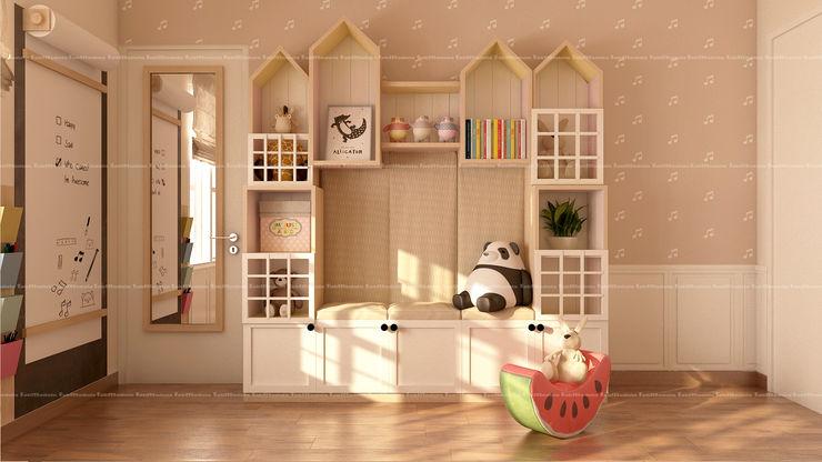 3BHK Interiors Fabmodula Classic style nursery/kids room