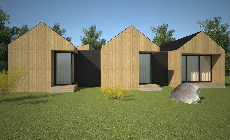VILLAHOUSE Atelier 72 - Arquitetura, Lda Casas pré-fabricadas
