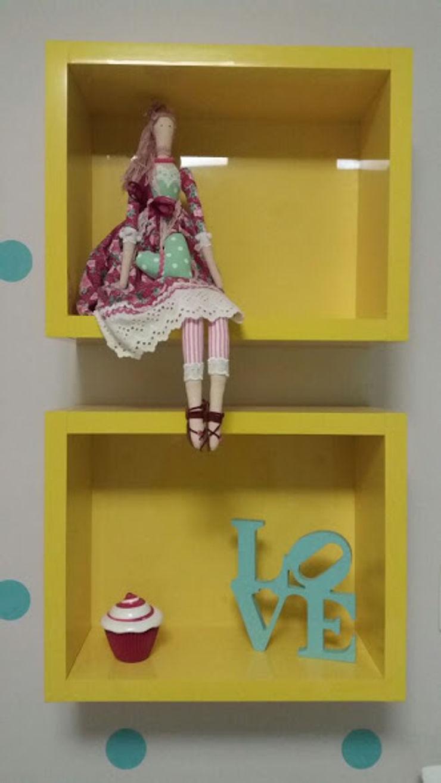 Rita Corrassa - design de interiores Nursery/kid's roomAccessories & decoration Yellow