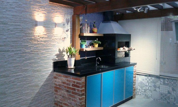 Rita Corrassa - design de interiores Multi-Family house Blue