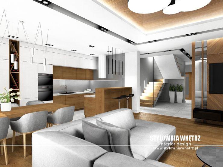 Stylownia Wnętrz Modern kitchen White
