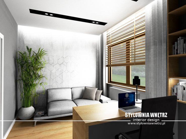 Stylownia Wnętrz Modern study/office Wood effect