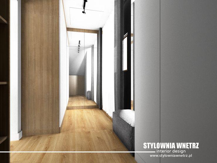 Stylownia Wnętrz Modern dressing room White
