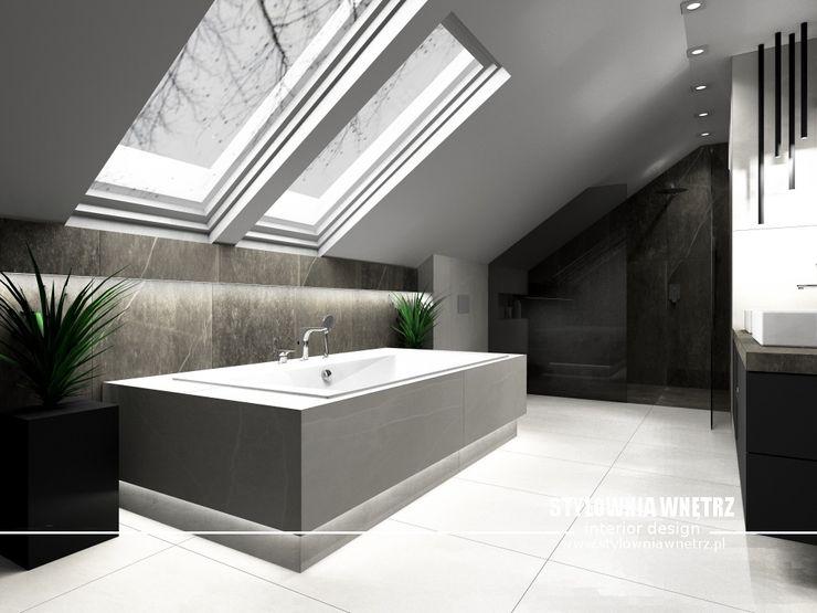Stylownia Wnętrz Modern bathroom Beige