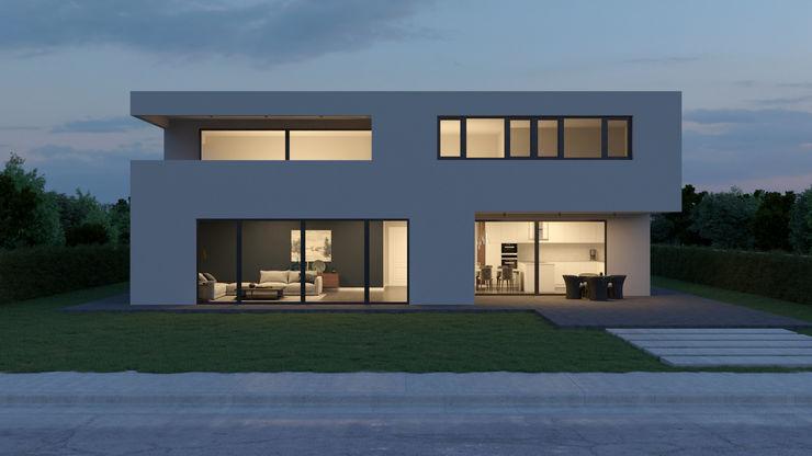 Dündar Design - Mimari Görselleştirme 모던스타일 주방