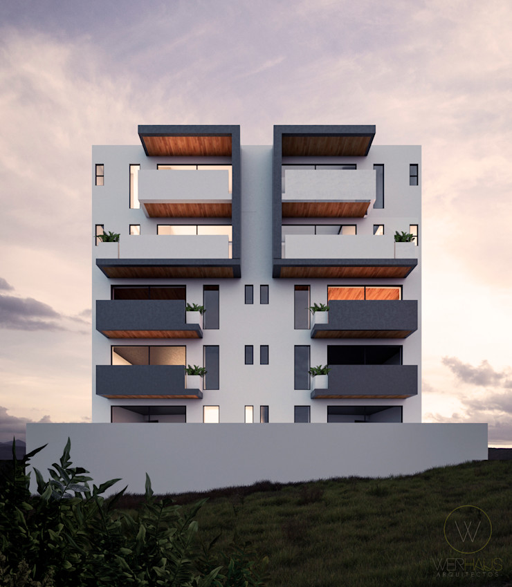 WERHAUS ARQUITECTOS Rumah Minimalis