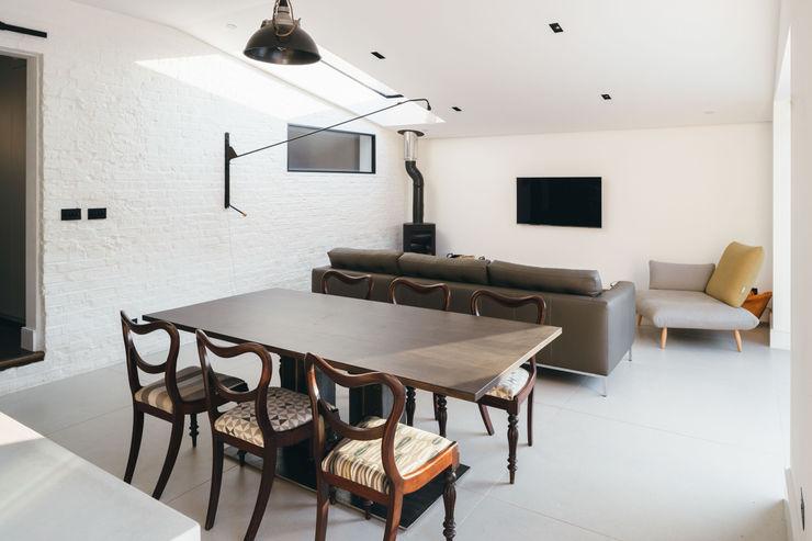 Black Ridge House Neil Dusheiko Architects Modern Oturma Odası