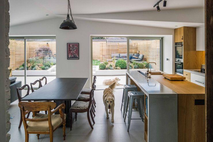 Black Ridge House Neil Dusheiko Architects Modern Mutfak