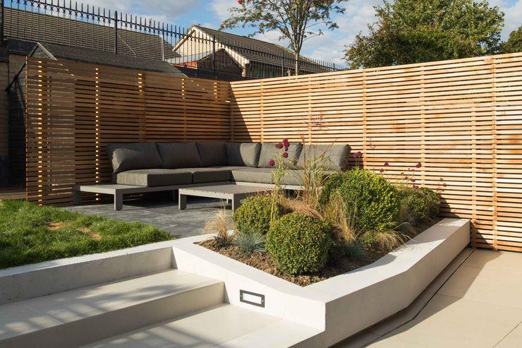 Black Ridge House Neil Dusheiko Architects Modern Bahçe