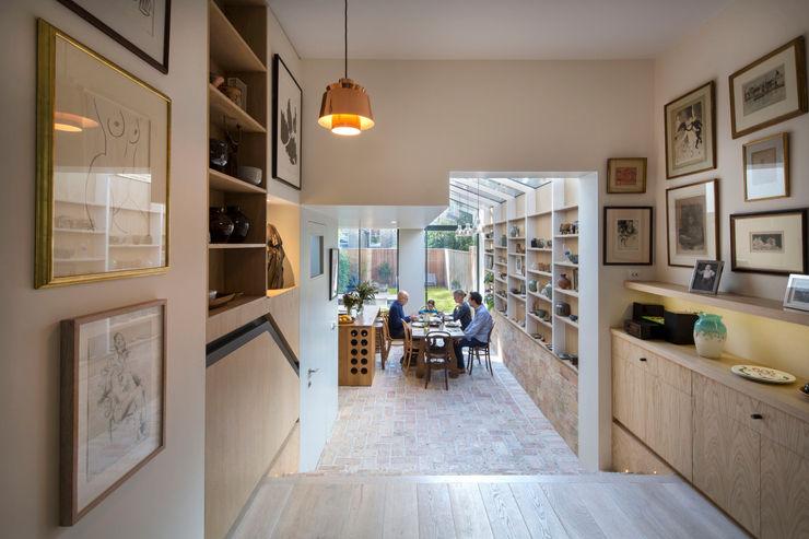 Gallery House Neil Dusheiko Architects Modern Yemek Odası