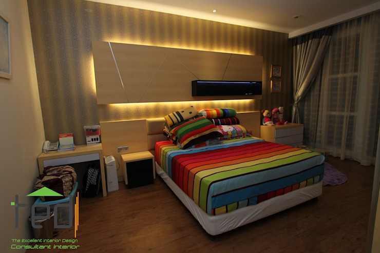 PD. Teguh Desain Indonesia BedroomBedside tables