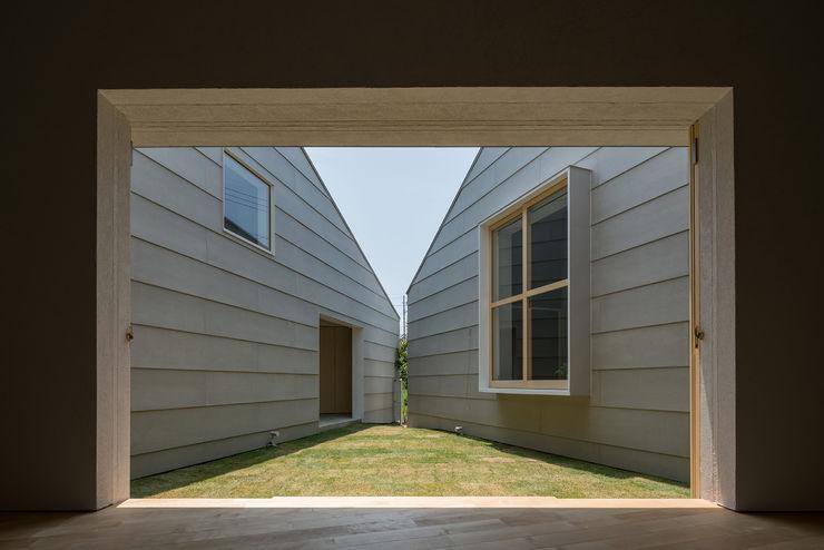 中庭 武藤圭太郎建築設計事務所 北欧風 庭