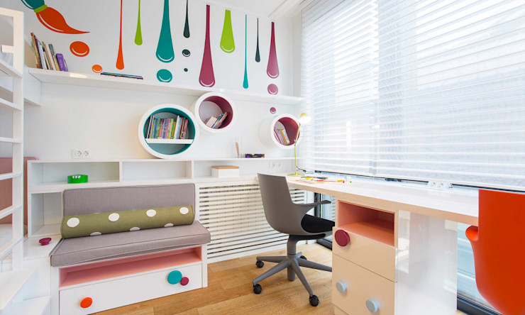 Pebbledesign / Çakıltașları Mimarlık Tasarım Cuarto para niñas