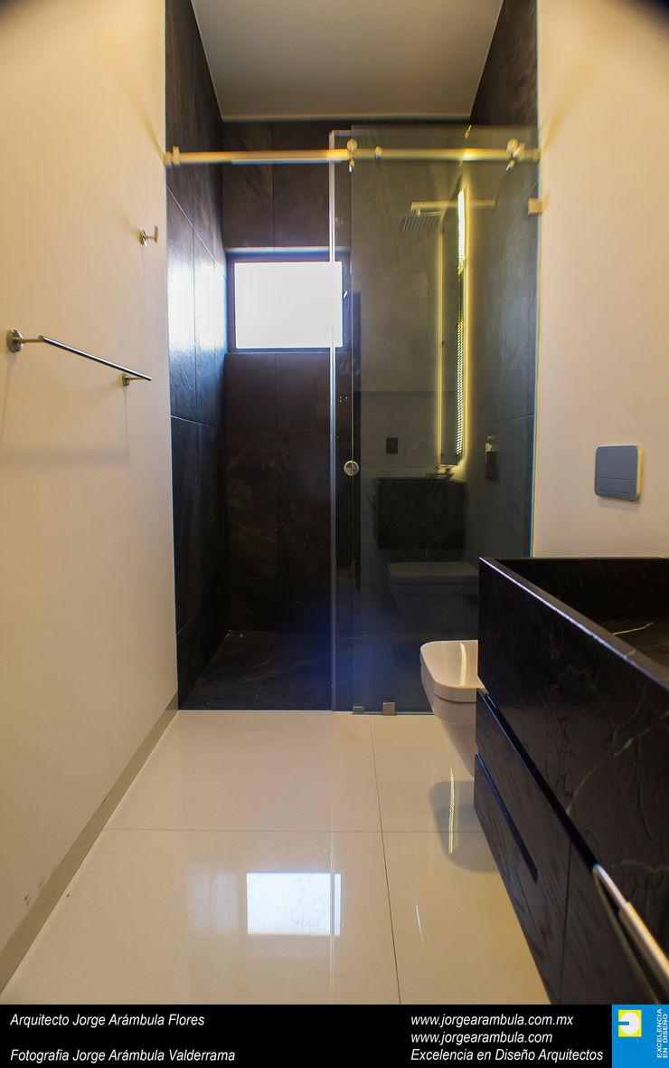 Casa N1 Excelencia en Diseño Baños minimalistas