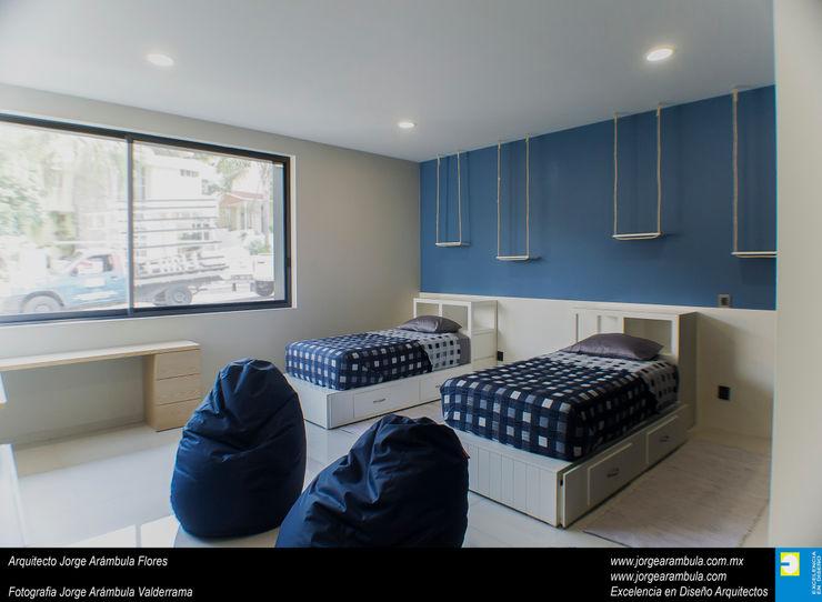 Casa N1 Excelencia en Diseño Recámaras para niños Azul