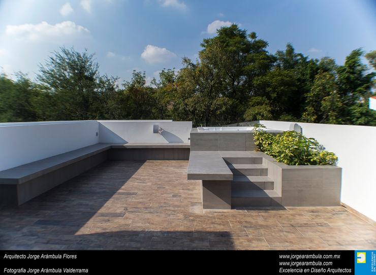 Casa N1 Excelencia en Diseño Azoteas Cerámico Gris