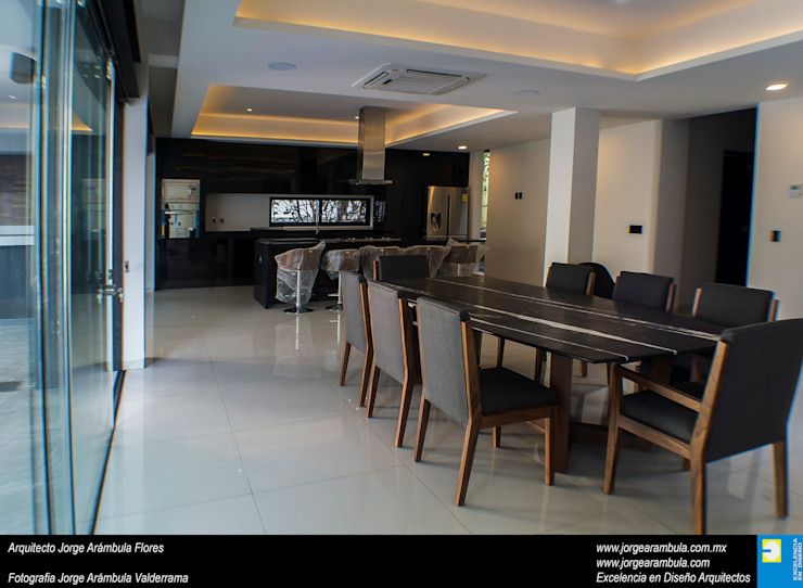 Casa N1 Excelencia en Diseño Comedores minimalistas