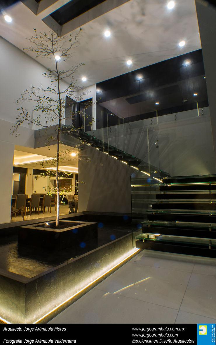 Casa N1 Excelencia en Diseño Escaleras Vidrio Transparente