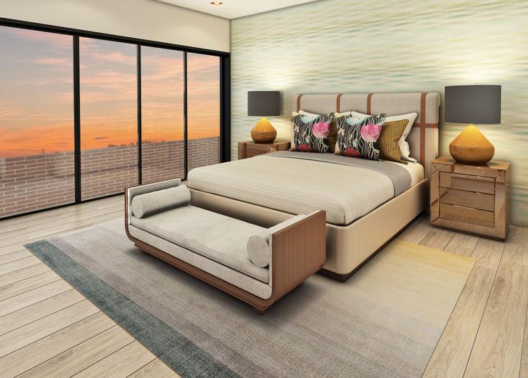 Luis Escobar Interiorismo Modern style bedroom