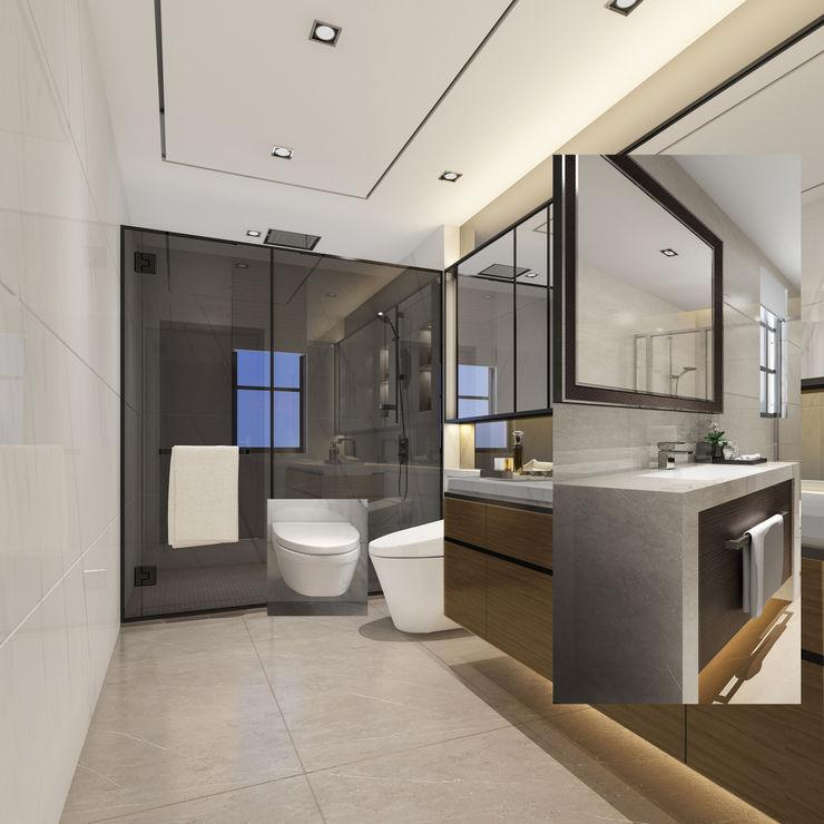 Luxury Solutions Kamar Mandi Modern Beige