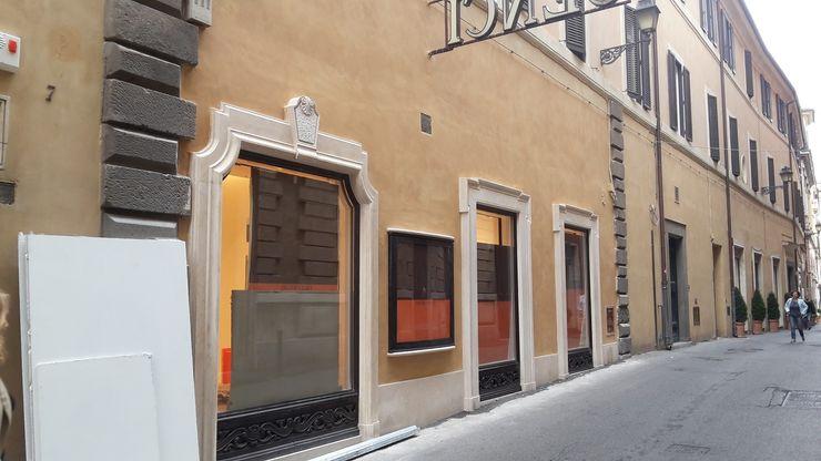 INDAMAR SRL Office spaces & stores Limestone Beige