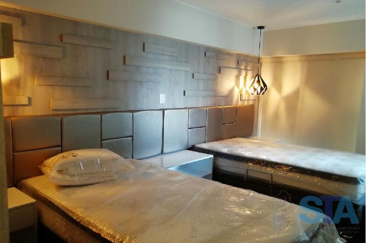 Soluciones Técnicas y de Arquitectura Small bedroom Chipboard Brown