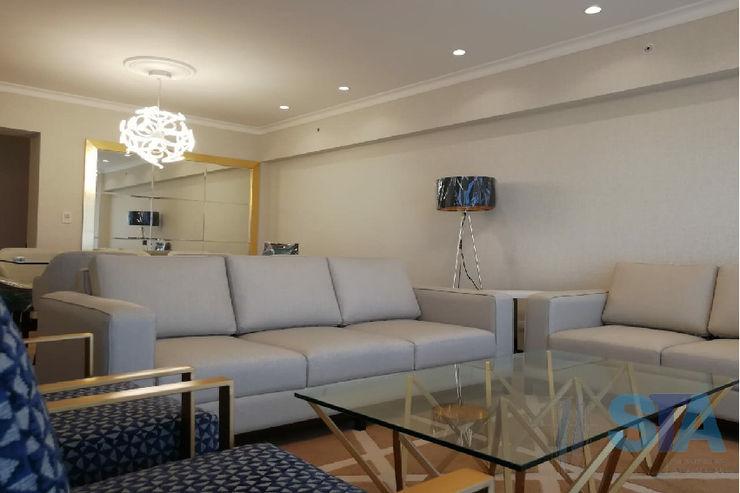 Soluciones Técnicas y de Arquitectura Modern living room Wood Transparent