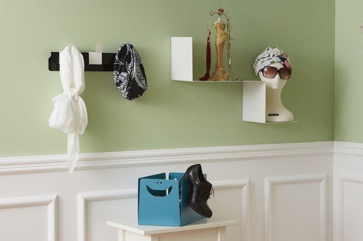 Appendiabiti THUMB, BOX portaoggetti e mensola BIANCAEVOLTA Mipiacemolto CasaAccessori & Decorazioni Metallo