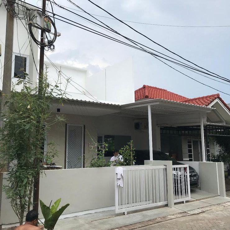 Freddy's House in Citra Garden Equator.Architect Rumah Minimalis