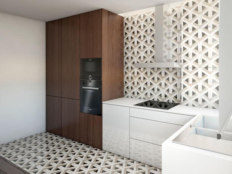 Cozinha Alma Braguesa Furniture Armários de cozinha MDF Multicolor