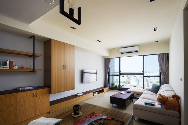 築室室內設計 Modern style media rooms