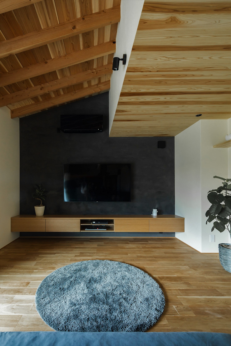 ALTS DESIGN OFFICE Asian style living room